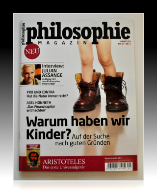 Titelseite Philosophie-Magazin, November 2011