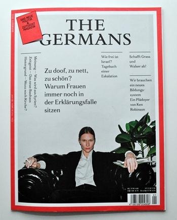 Titelseite The Germans 01/02-2013