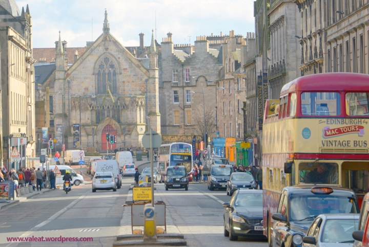 Straße in Edinburgh. Foto: (c) Valeat