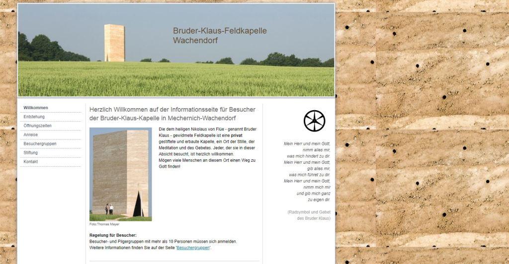 Webseite www.feldkapelle.de